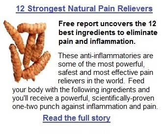 12 Best Natural Pain Relievers