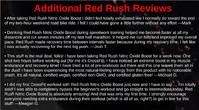 Red Rush Reviews